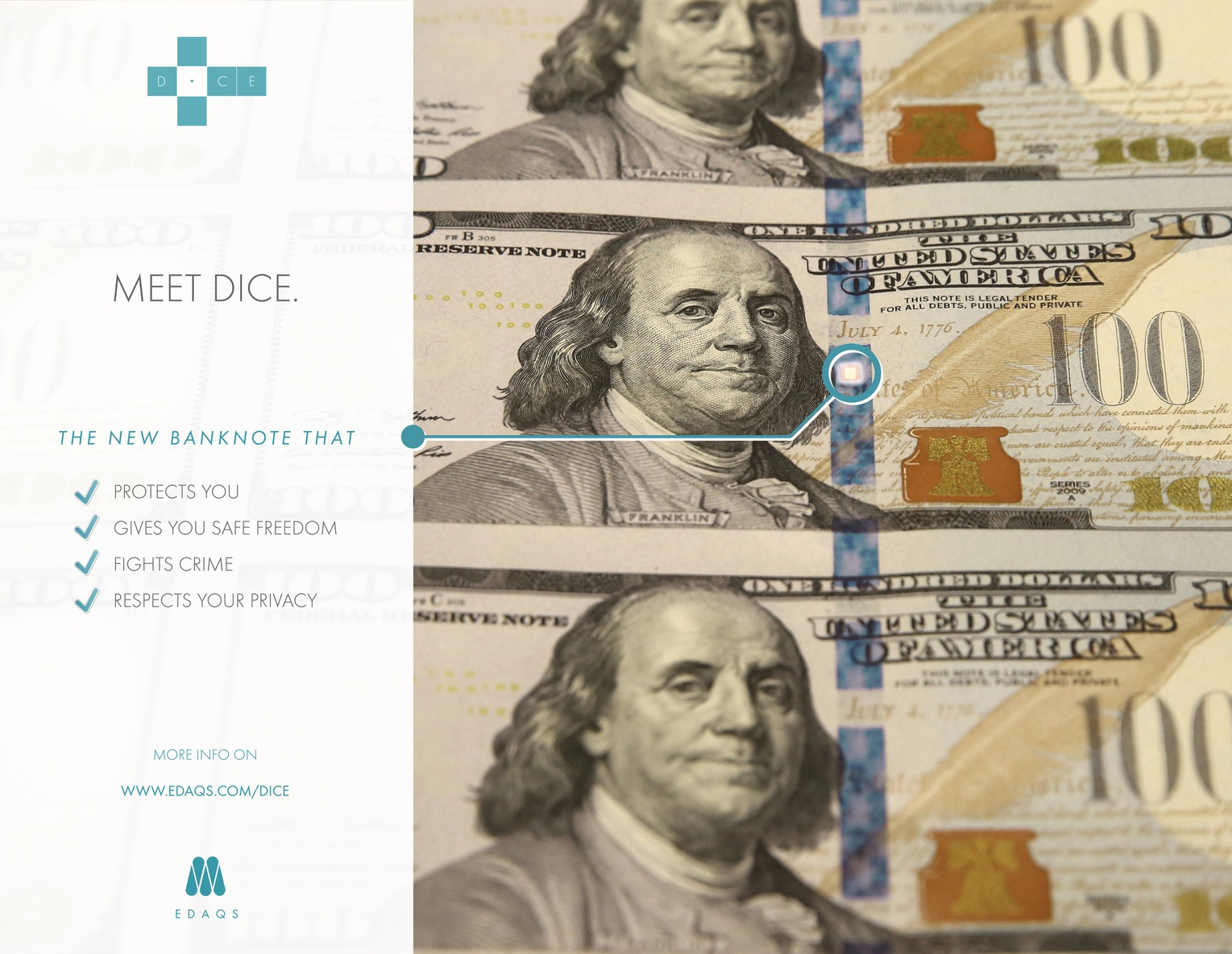 DICE – the new banknote technology that protects citizen and fights the crime